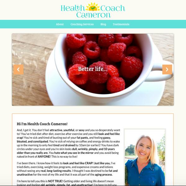 Health Coach Cameron