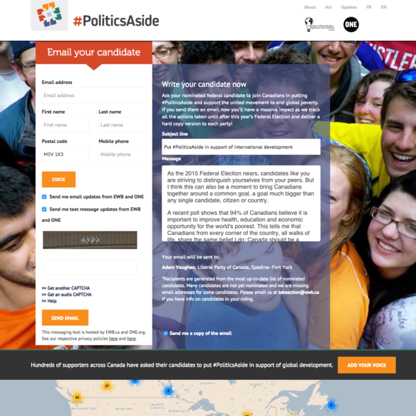 #PoliticsAside Email-a-Rep