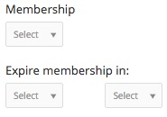Assign membership