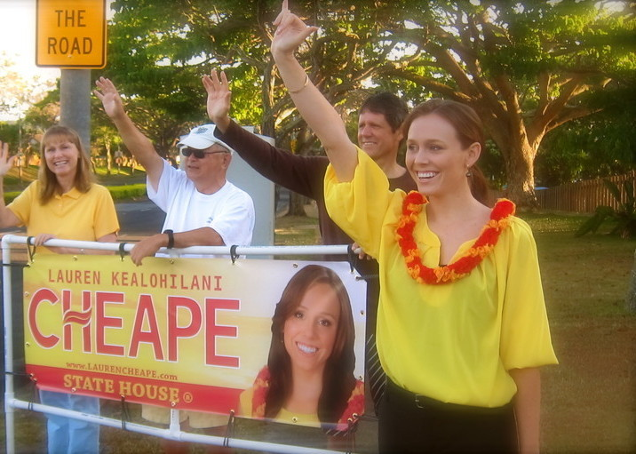 Hawai'i House Representative Lauren Cheape