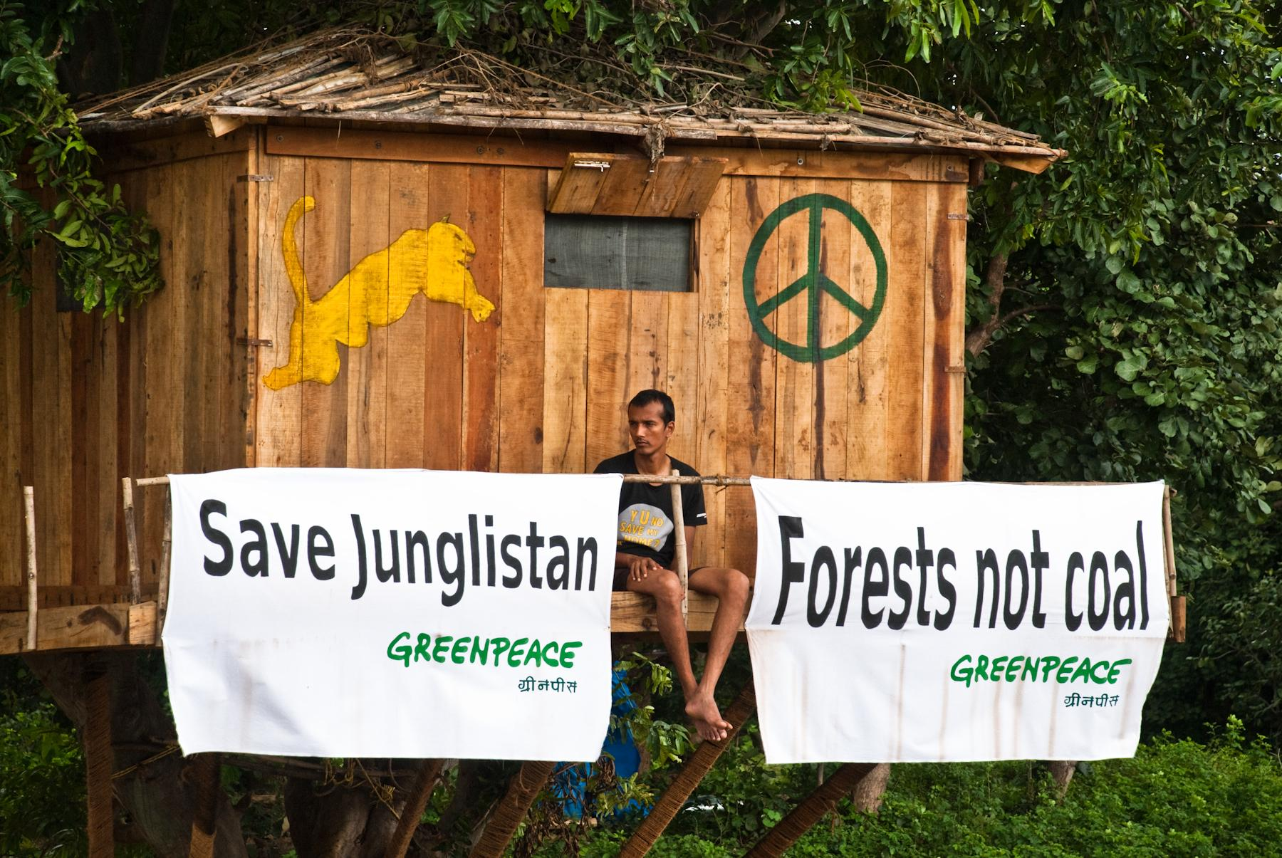 Greenpeace India activist, Brikesh Singh