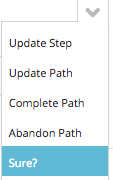 confirm path deletion