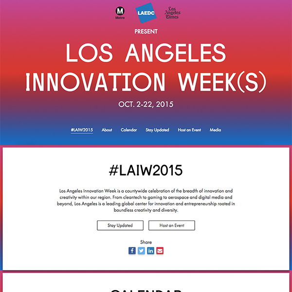 LA Innovation Week