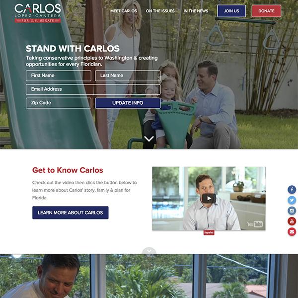 Carlos for Florida Senate 2016