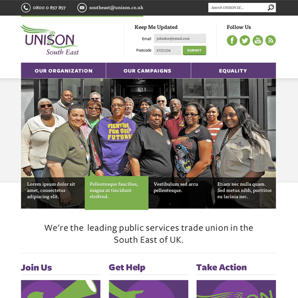 Unison South East