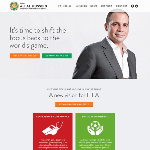 Prince Ali for FIFA President