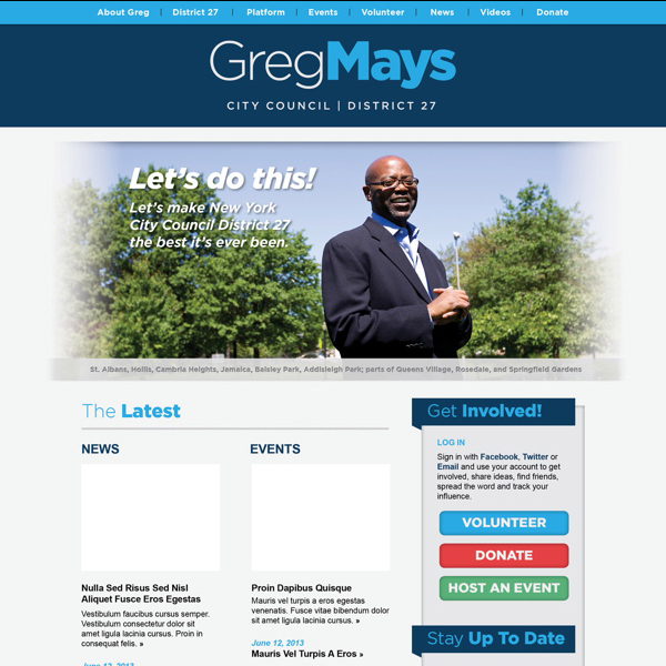 Greg Mays - City Council