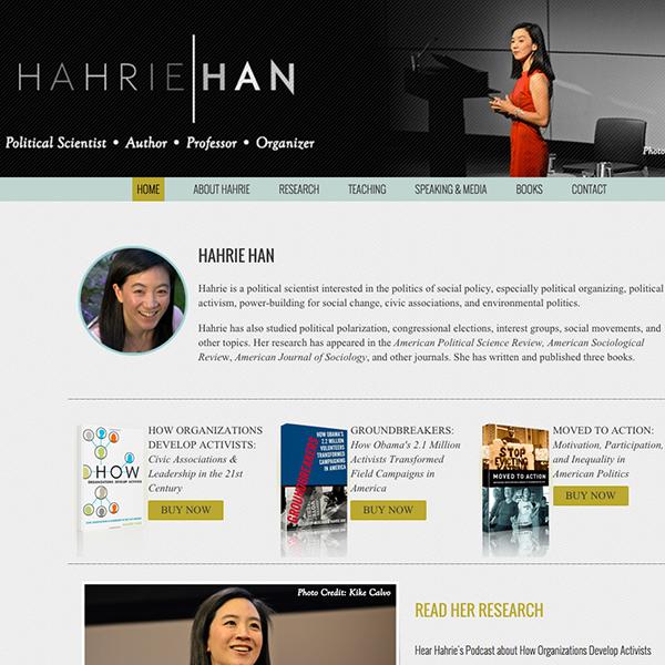 Hahrie Han - Made by Pumpkin