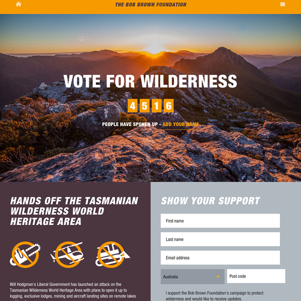 Vote for Wilderness
