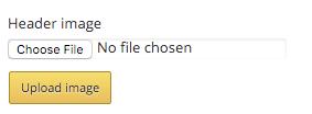 Choose and upload file