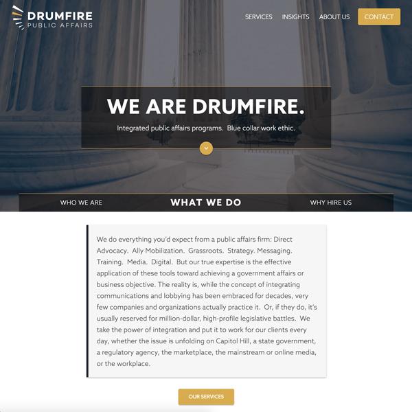 Drumfire PA
