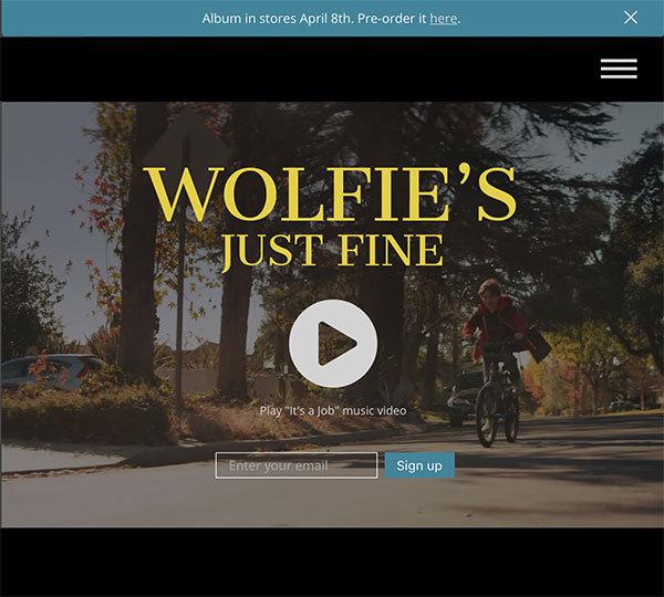 Wolfie's Just Fine