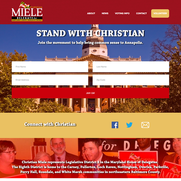 Christian Miele for Maryland State Delegate
