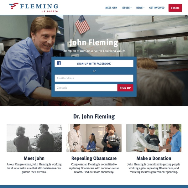 John Fleming for US Senate