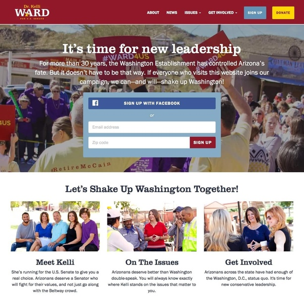Kelli Ward for Senate