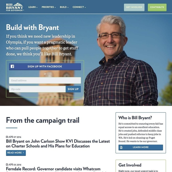 Bill Bryant for Governor