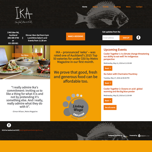 Ika Seafood Bar & Grill