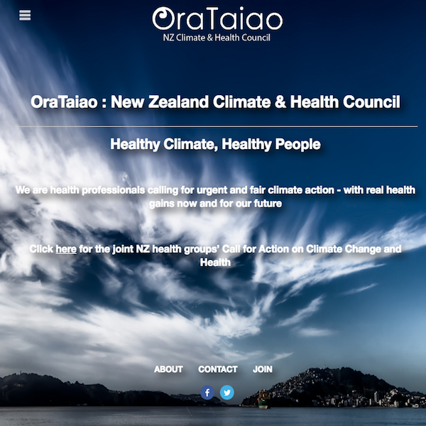 Ora Taiao - NZ Climate and Health