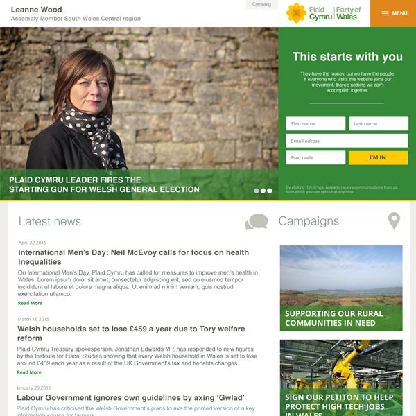 Leanne Wood - Plaid Cymru