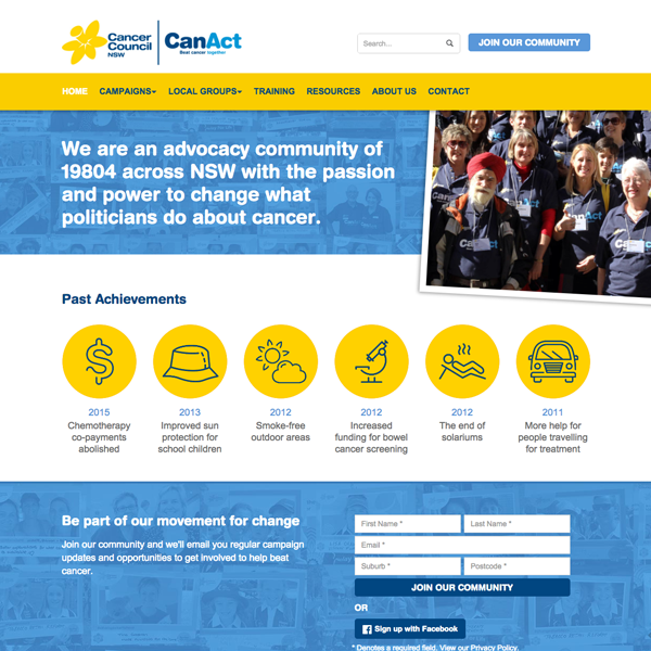 Cancer Council NSW: CanAct
