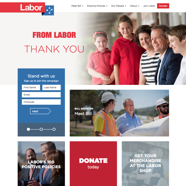 Australian Labor Party: Federal