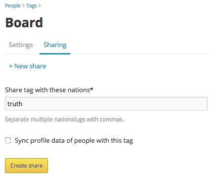 Sharing a tag with another nation in NationBuilder