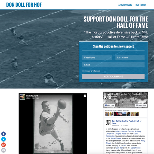 Don Doll for Hall of Fame