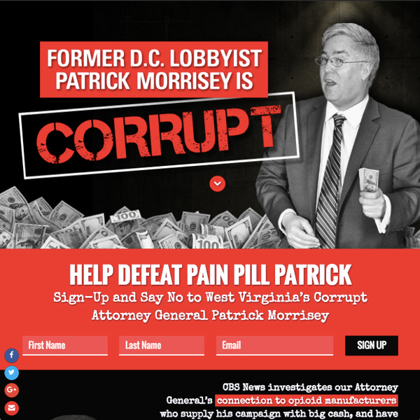 Patrick Morrisey is Corrupt