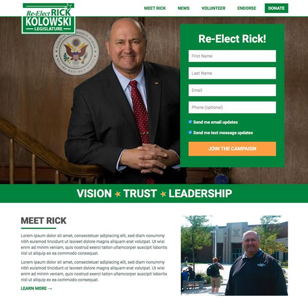 Re-Elect Rick Kolowski