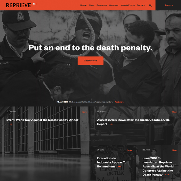 Reprieve - End the death penalty