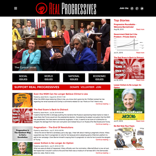 Real Progressives