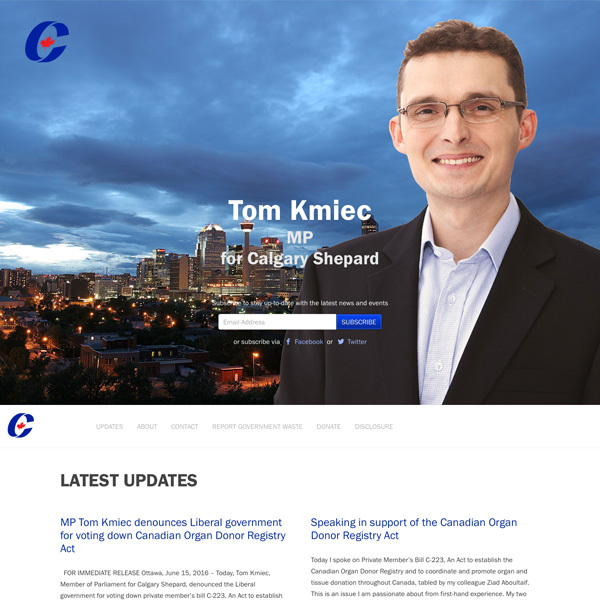 Tom Kmiec (MP Template)