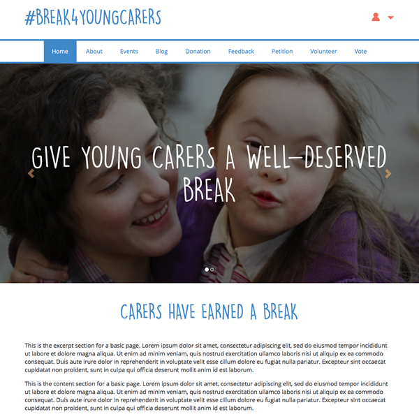 #Break4YoungCarers
