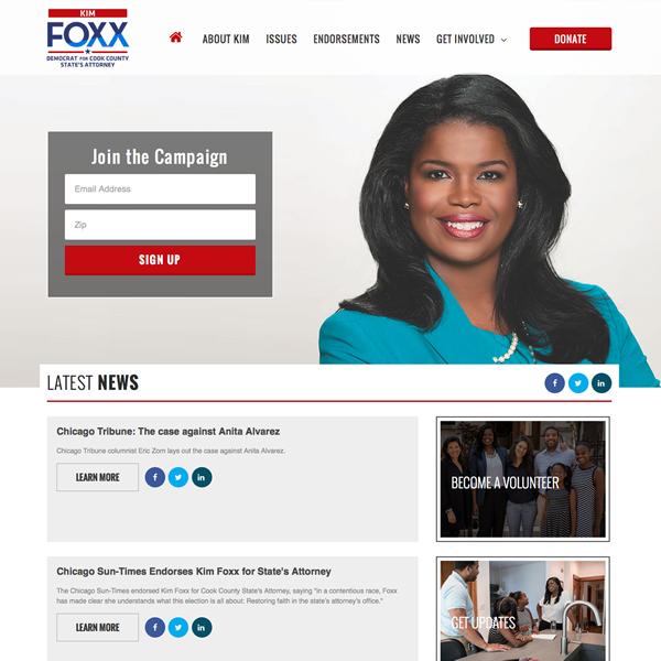 Kim Foxx for State's Attorney