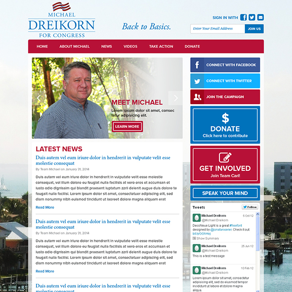 Michael Dreikorn for Congress