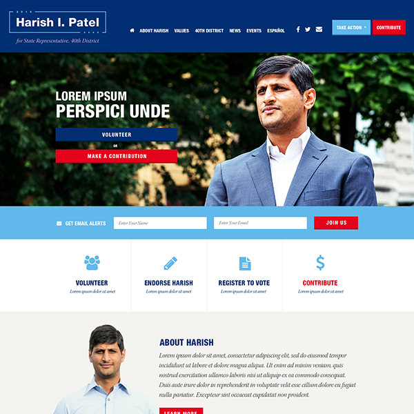 Harish Patel for State Rep