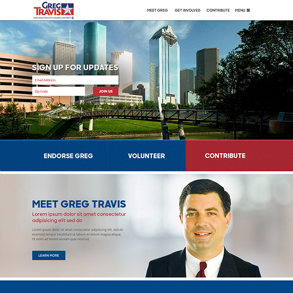 Greg Travis for Houston