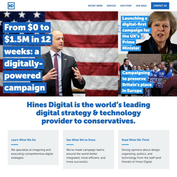 Check out the new Hines Digital