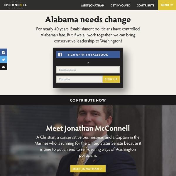 Jonathan McConnell for US Senate