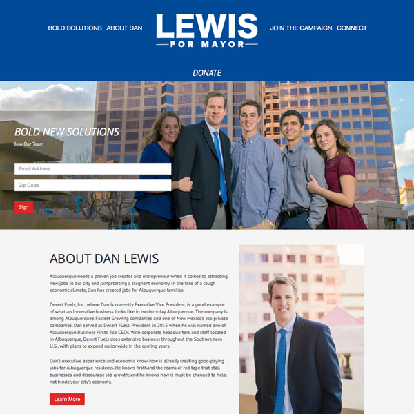 Dan Lewis for Mayor