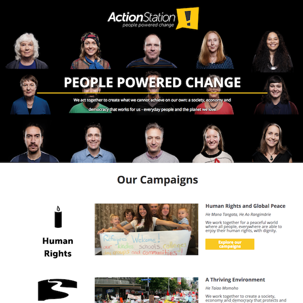 Actionstation-People Powered Change