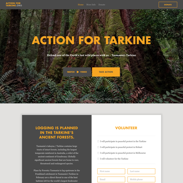 Action For Tarkine