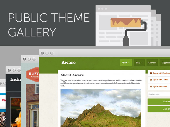 NationBuilder Theme Gallery
