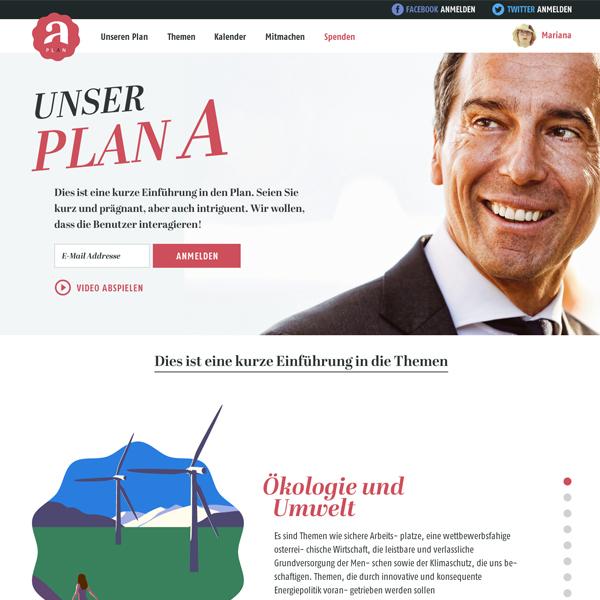 SPÖ: Mein Plan A