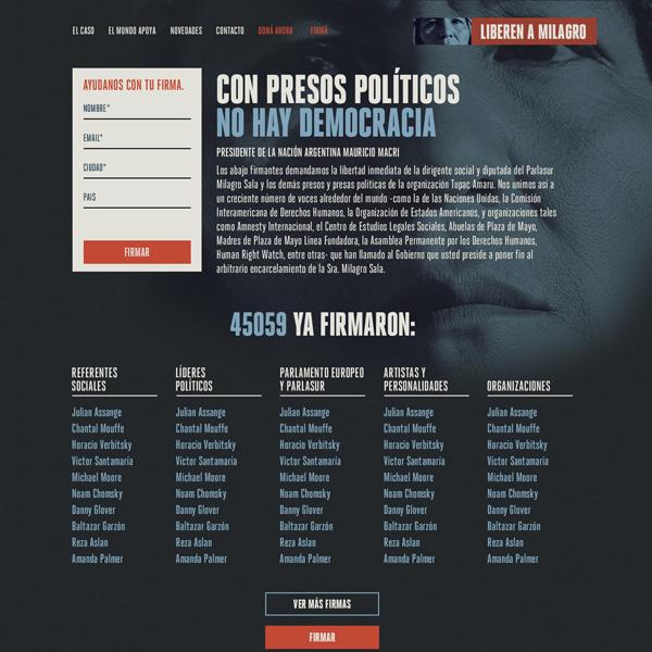 Free Milagro Sala!