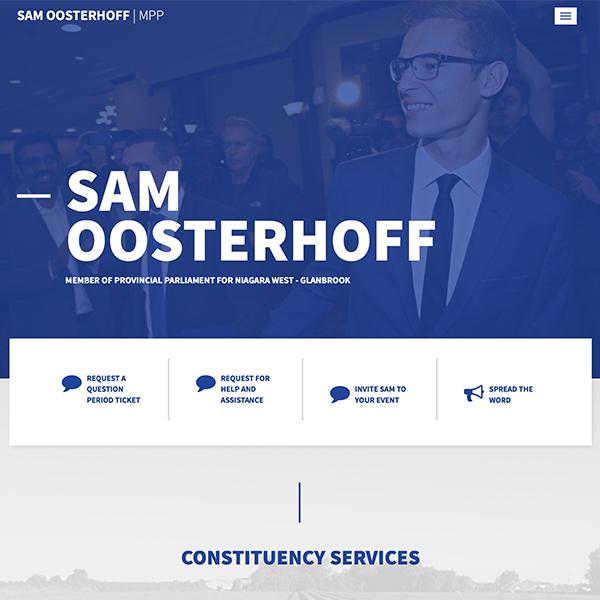 Sam Oosterhoff (MPP Template)