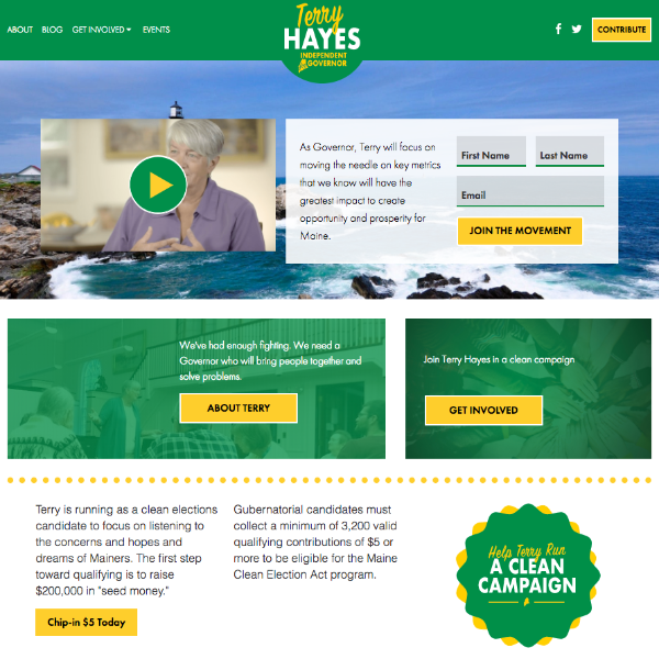 Hayes for Maine