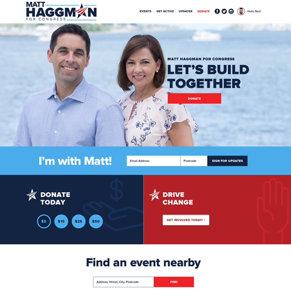 Matt Haggman for Congress