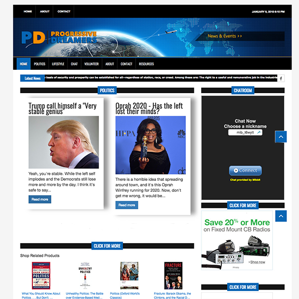 Progressive Dreamers News Theme