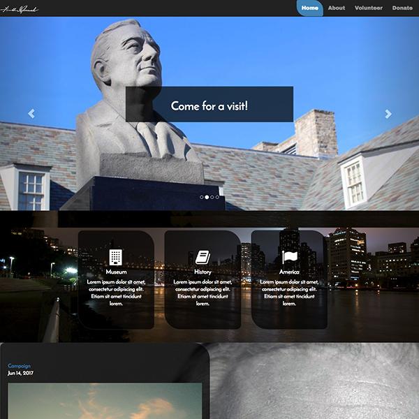 FDR Museum Design
